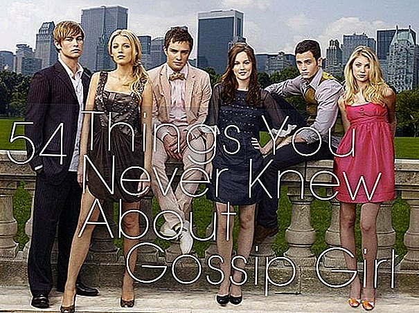 54 choses que vous avez probablement D> «Hey Siders Upper East.  «